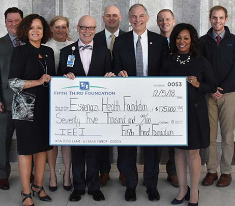 Eskenazi Health Foundation Receives $75,000 from Fifth Third Foundation