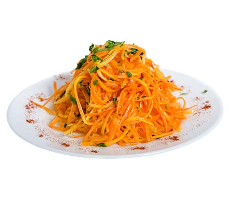 Recipe of the Month: Lemony Carrot Salad