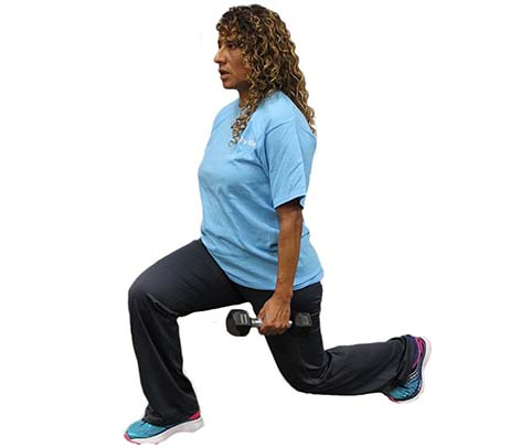 Exercise of the Month: Stationary Lunges