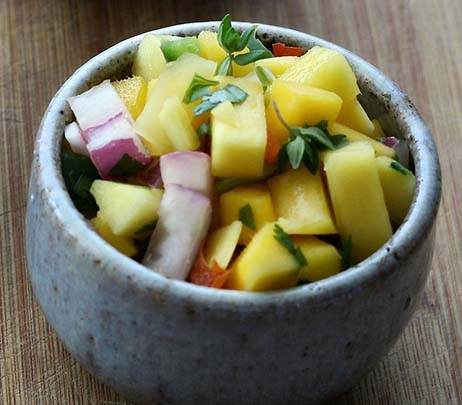 Recipe of the Month: Easy Mango Salsa