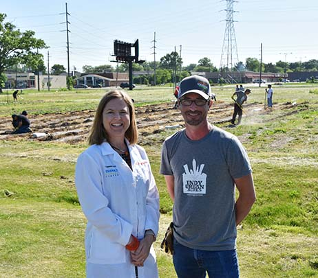 Eskenazi Health Opens Farm on Indianapolis Northside