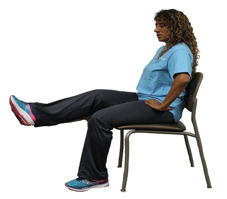 Exercise of the Month: Seated Single-Leg Raises