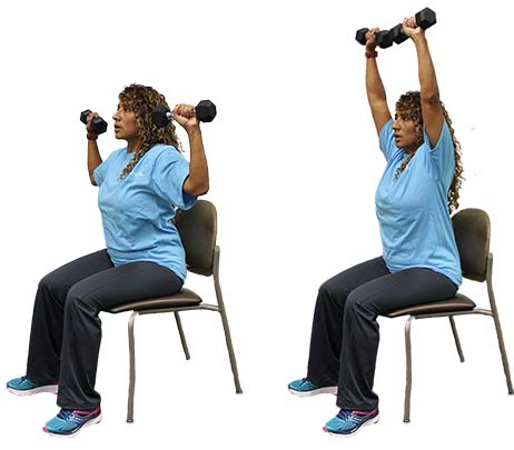 Exercise of the Month: Dumbbell Shoulder Press
