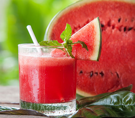 Recipe of the Month: Watermelon-Basil Refresher Smoothie