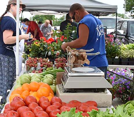 Eskenazi Health Farmers' Market Resumes in May