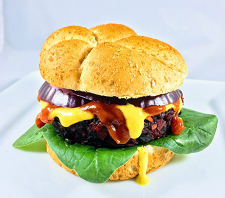 Healthy Recipe: Mushroom Beet Burger