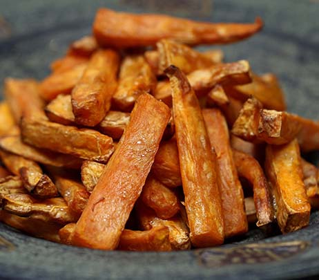 Recipe of the Month: Crispy Sweet Potato Fries