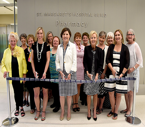 Eskenazi Health's Main Campus Pharmacy Renamed After St. Margaret's Hospital Guild